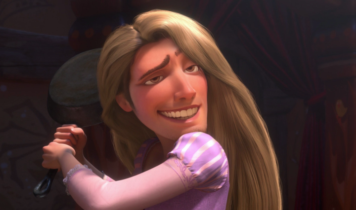 Epic Tangled face swap