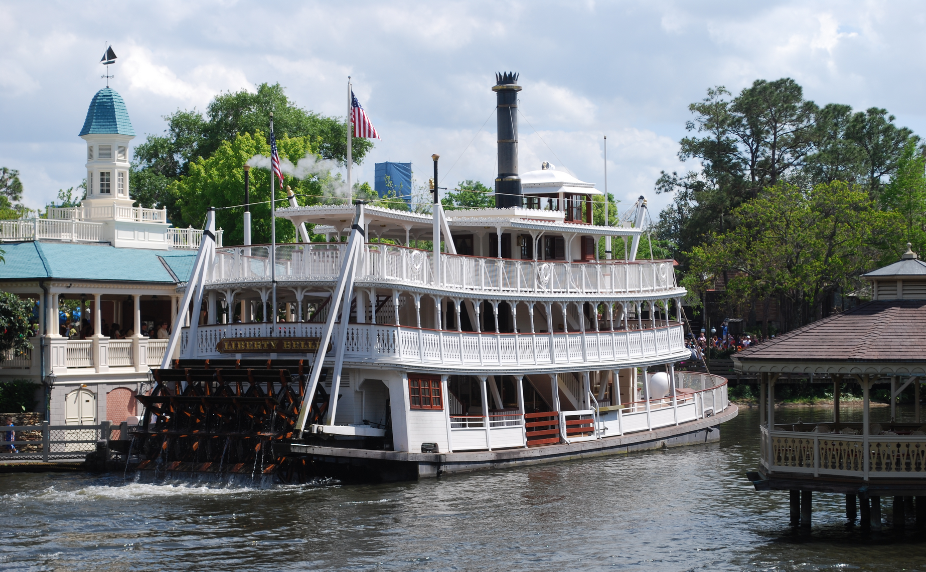 Mississippi river steamboat