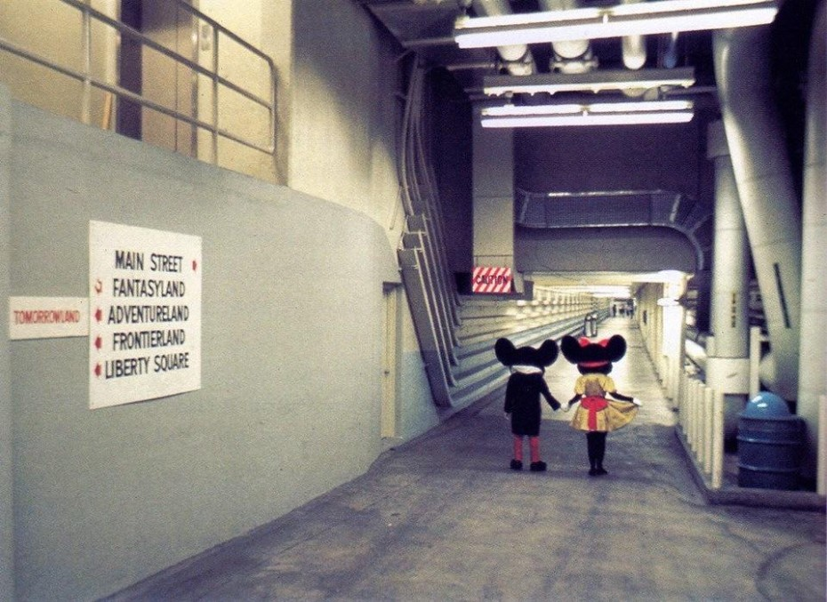 Mickey Mouse hidden passageway