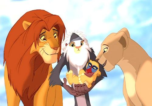 Lion King face swap