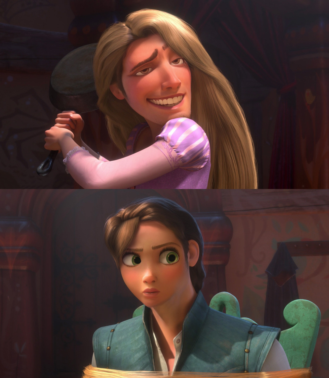 Tangled Face Swap
