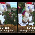 Unicorn Poop Ice Cream Toilet Time
